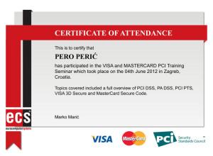 Smart certificate