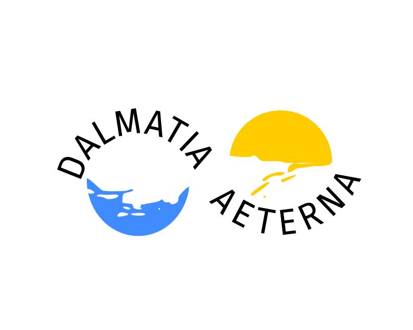 Dalmatia aeterna logo design