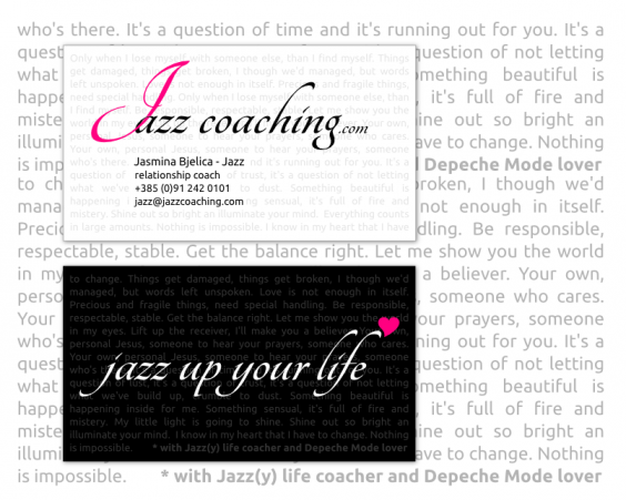 Jazz coaching vizitka