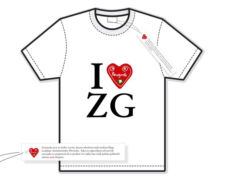 I love ZG - illustration