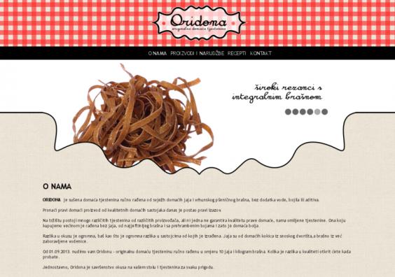Oridona web stranice