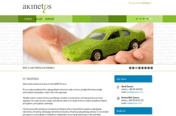 Akinetos web