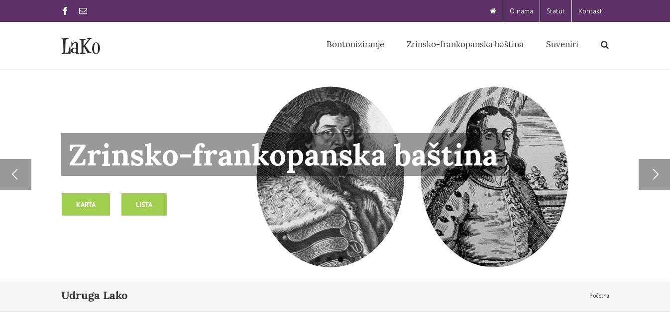 Lako - Zrinsko-frankopanska baština