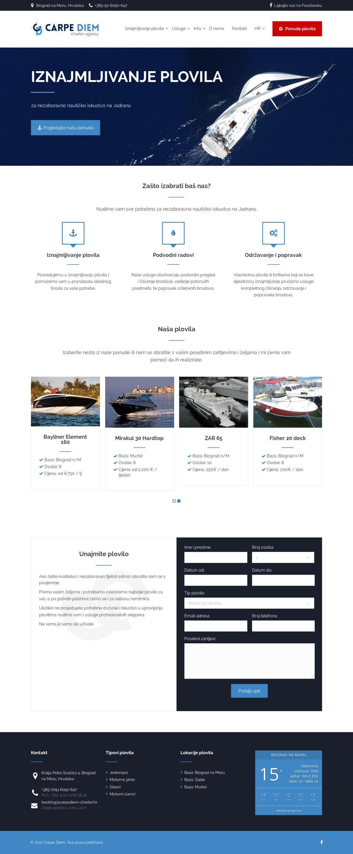 Carpe Diem web stranica