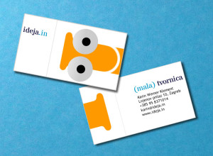 Transformer business card