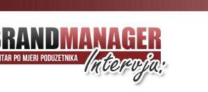 Intervju na Brand Manager portalu