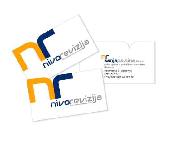 Nivo revizija - business card
