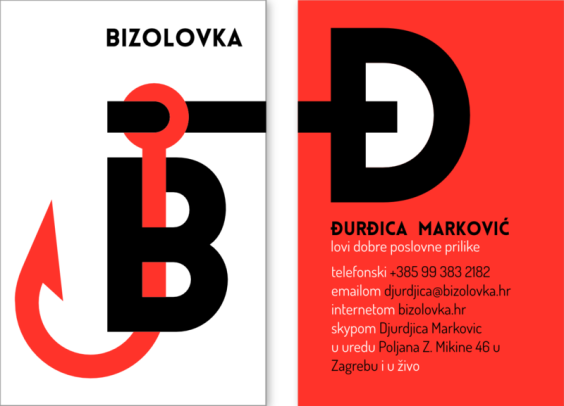Bizolovka - business card