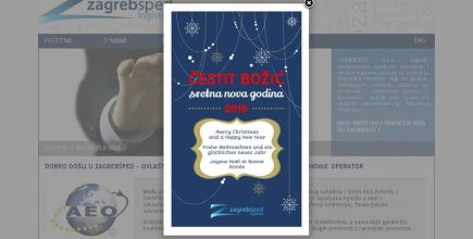 Christmas Greeting Card for Zagrebšped