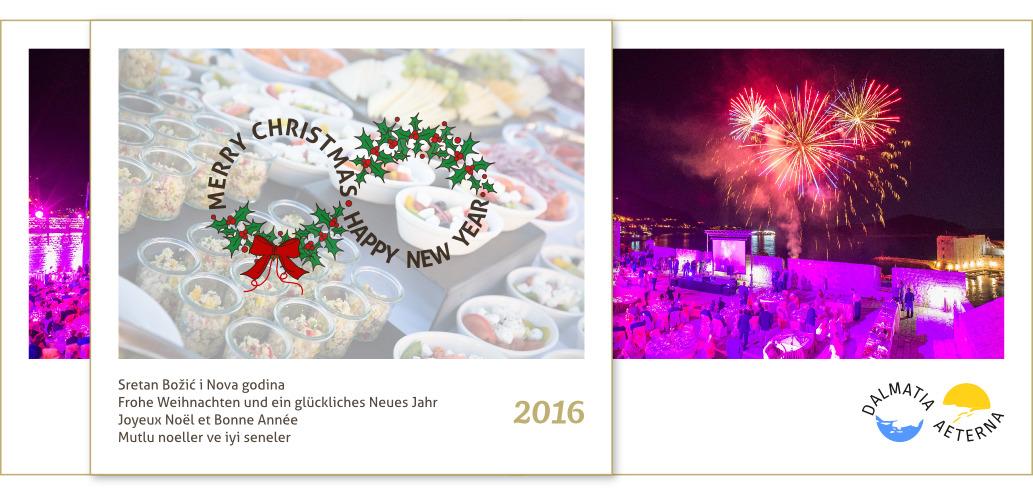 Dalmatia Aeterna - Christmas Greeting Card