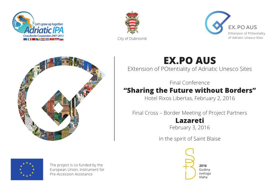EX.PO AUS konferencija - oglas