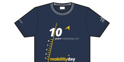 T-shirts for MobilityDay 2016.