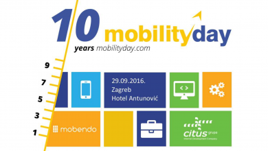 Powerpoint template for MobilityDay