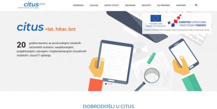 Citus.hr web